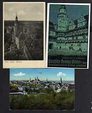 101787 3 AK Schloss Oels in Schlesien Zeesel 1917