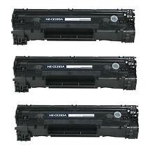 3 COMPATIBILI REMAN TONER HP 285A BK LaserJet Pro M1217nfw MFP P1109w M1213nf MF