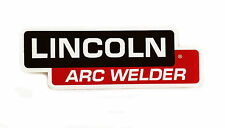 """Lincoln SA-200 Arc Welder Pipeline Decal 12""""x4""""  BW830"""