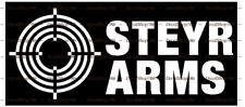 STEYR ARMS - Hunting/Outdoor Sports - Car/SUV Vinyl Die-Cut Peel N' Stick Decals
