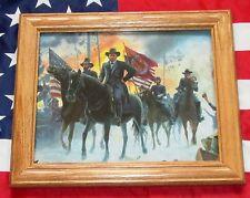 Framed Civil War Painting. Mort Kunstler, ON TO RICHMOND, Ulysses S Grant