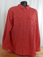 NWT Men's Columbia Omni-Shade Long Sleeve Shirt w/40 UPF Sun Protection-XL
