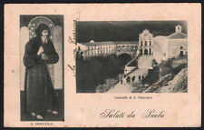 cartolina PAOLA saluti da..santuario s.francesco