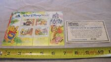 Walt Disney World Florida Winnie the Pooh Postage Stamp (New)