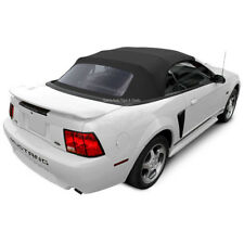 Mustang Convertible Top 1994-2004 Black Sailcloth with Plastic Window