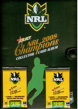 2008 Select NRL Champions Trading Cards Official Album (With 22 pages) RARE
