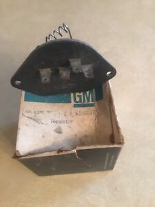 ORIGINAL GM NOS 1982 1992 CAMARO - FIREBIRD AC BLOWER RESISTOR # 526897
