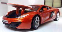 G LGB 1:24 Maßstab McLaren MP4-12C detaillierte Burago Druckguss Modell Auto