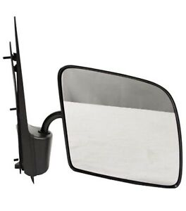 Manual Side View Mirror Passenger Right RH NEW for 92-07 Ford Econoline Van