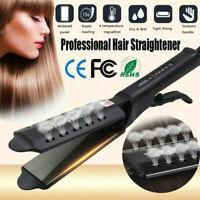 Four Gear Temp Steam Ceramic Tourmaline Ionic Flat Iron Hair Straightener Glider