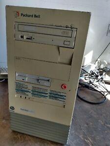 VINTAGE PACKARD BELL PACK-MATE 5400CDT INTEL PENTIUM 133MHZ DESKTOP COMPUTER  A9