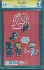 New Avengers 1 CGC SS 9.8 Stan Lee Young Variant Infinity War Movie Inhumans