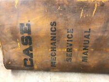 Case Mechanics Service Manual