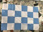 1 bandiera scacchi BiancoCeleste neutra SPAL LAZIO PESCARA ENTELLA 140x100 Flag