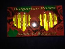 100% Genuine Bulgarian ROSE OIL (OTTO) Perfume Red Vial 10x2ml Certified EU made