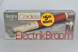 VTG Regina Cordless Rechargeable ElectrikBroom Cleaner Electric Vacuum NEW NOS