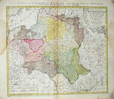 1773 Polen Poland Polska Ukraine Litauen Lithuania Weißrussland Belarus Kupfer