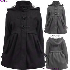 NEW GIRLS WOOL BLEND COAT GIRLS JACKET Lined CLOTHING SCHOOL AGE 7-13 WINTER TOG