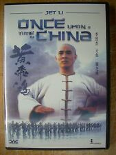Once Upon A Time In China DVD Jet Li ed vendita FUORI CATALOGO RARO