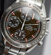 OMEGA SPEEDMASTER SCHUMACHER 3519.50 BOX/PAPERS/GTEE  AUTOMATIC CHRONO 2001 YR