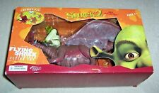 SHREK 2 FLYING SHREK TETHERED FLYING TOY By FUSION AGES 4+ UNUSED IN BOX