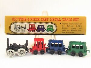 Miniature Shackman Diecast Old Time Train Toy for Dollhouse E261