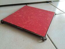 Dessous de Plat Vintage rouge ART POPULAIRE  années 50 60  70
