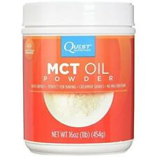 Quest  MCT Oil Powder 16 oz 50 Servings KETOGENIC DIET ENERGY, WEIGHT MANAGEMENT