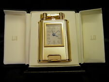Rare Dunhill 1995 Gold Plated Charleston Table Lighter NEW