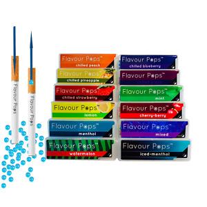 Aroma Kapseln Menthol für Zigaretten Zigaretten Perlen Original Flavourpops