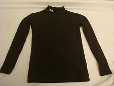 Under Armour Cold Gear Black Youth XL Long Sleeve Layer Clothing Sports