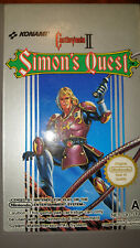 Nintendo NES Game Castlevania II 2 Simon's Quest Cartridge Only PAL - RARE