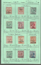 ITALY...BOB Classics...Offices Abroad...Used...1912/22...12 Diff...SCV $48.50