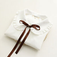 Mori Girl Loose Cool Japan Sweet Kawaii Leisure Bow Blouses Shirts falbala Tops