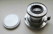 Russian Elmar lens INDUSTAR-10 3,5/50 camera FED NKVD Zorki 2 3 4 5 6 Leica