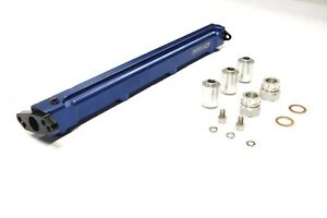 OBX Blue Fuel Injection Rail for 90-99 Eclipse/Talon 2.0T, Plymouth Laser 2.0T