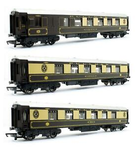 HORNBY 'OO' GAUGE RAKE OF 3 ASSORTED PULLMAN COACHES *UNBOXED*