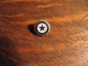 American Legion Auxiliary Lapel Pin - Vintage USA MilitaryPatriotic Women Badge