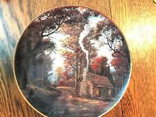 Franklin Mint Twilight Memories Limited Edition Porcelin Plate collectible