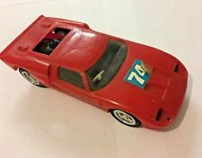 1960s Ford GT Mk2 Plastic Friction Car ROXY TOYS