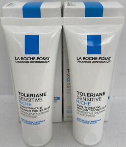 La Roche-Posay Toleriane Sensitive Riche Moisturiser 40ml x2 BRAND NEW/BOXED