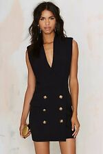 Nasty Gal Endless Rose All Suited Up Tuxedo Dress Size M
