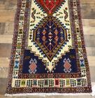 "2'4""x7' Authentic Excellent Dense Fine handmade wool Oriental area rug runner"