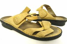 Propet tan strappy wedge low heels shoes sandals- 9 W /40 eur womens Propét #059