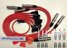 Cable ignición VW GOLF PASSAT VENTO 2,8 2,9 VR6 AAA ABV Rojo Bujías
