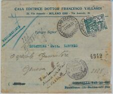 66090 - ITALIA - storia postale: Sassone 236  ISOLATO su BUSTA 1928