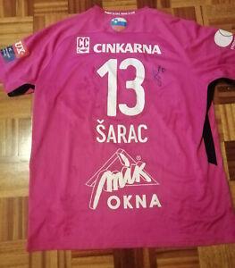 JOSIP SARAC Match Worn Jersey Handbal club RK Celje European Champions League