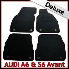 Audi A6 Avant Estate C5 1997-2005 Tailored LUXURY 1300g Carpet Car Mats BLACK
