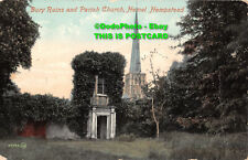 R364033 Bury Ruins and Parish Church Hemel Hempstead. 54943. J. V. Valentine and