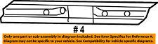 Mercury FORD OEM 02-05 Mountaineer-Door Sill Plate 5L2Z7842624AAD